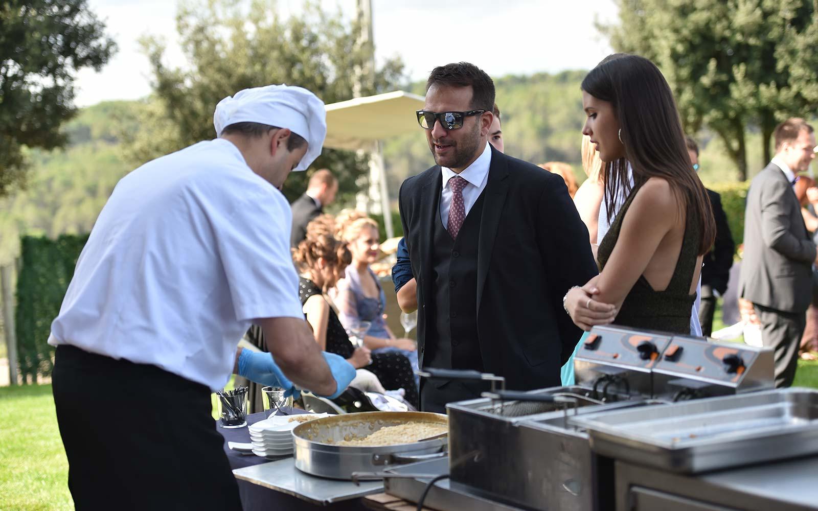 Catering del restaurant La Deu